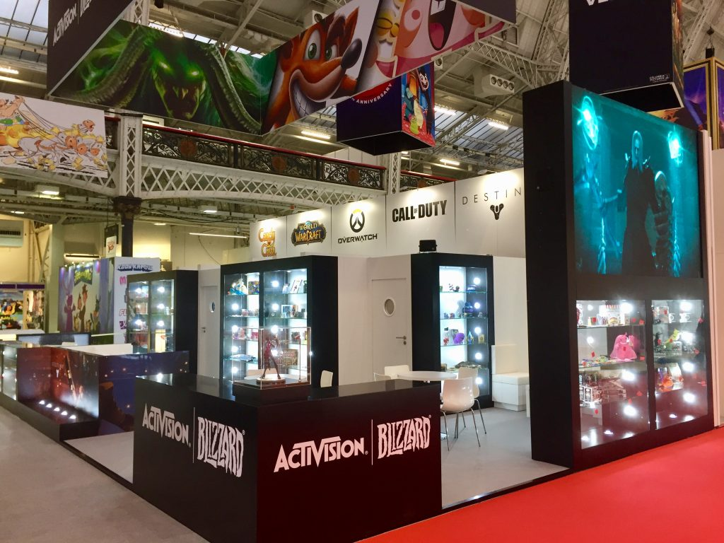 Activision Blizzard Stand - Brand Licensing Europe 2017