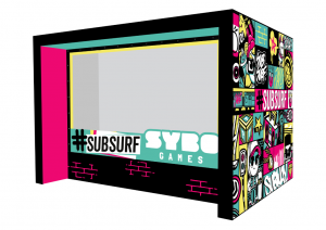 SYBO Games stand design - BLE 2017